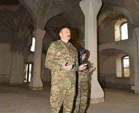 Cumhurbaşkanı Aliyev ve eşinden örnek hareket
