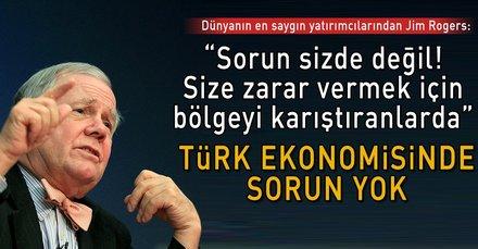Türk ekonomisinde sorun yok