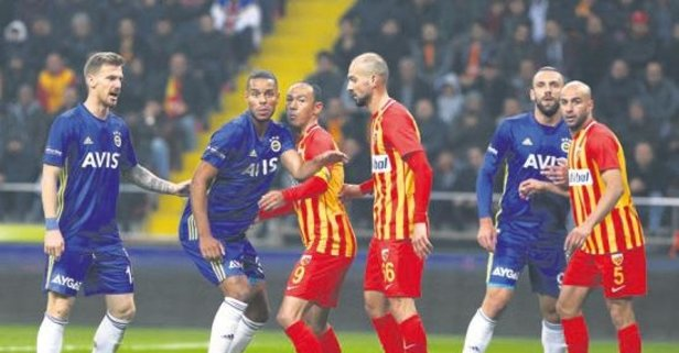Fenerbahçe'nin Kayseri kabusu