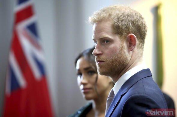 İngiliz Kraliyet Ailesi'ni karıştıran olay! Meghan Markle gizli gizli...