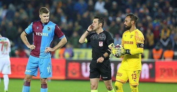 Trabzon'da penaltı isyanı!