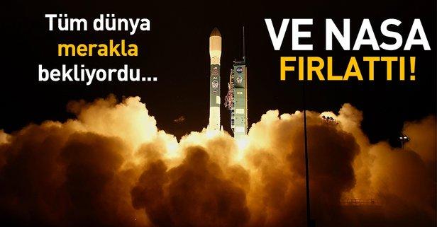 Tüm dünyayı ilgilendiren olay! NASA fırlattı...