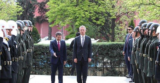 NATO Genel Sekreteri Jens Stoltenberg Ankarada