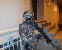 İstanbul'da terör operasyonu! 127 adrese baskın var