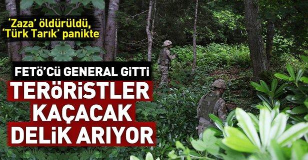 FETÖcü general gitti, teröristler kaçacak delik arıyor