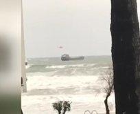 Sürüklenen Rus gemisindeki mürettebat kurtarıldı