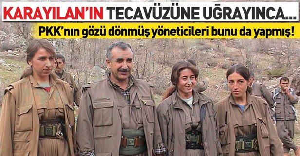 Terör örgütü PKK'nın sözde yöneticileri kadın teröristleri ölüme ...