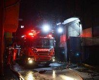İstanbul Bayrampaşa'da yangın paniği!