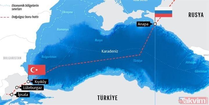 TürkAkım'da sona gelindi: 1 ay sonra gaz akışı başlayacak