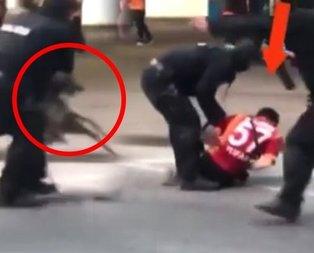 Galatasaraylılara çirkin saldırı