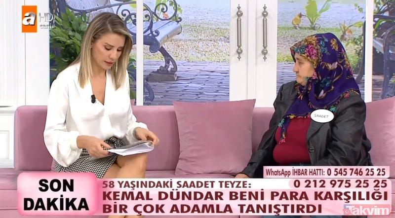 Esra Erol'da canlı yayınında skandal olay! Kemal Dündar para karşılığı...