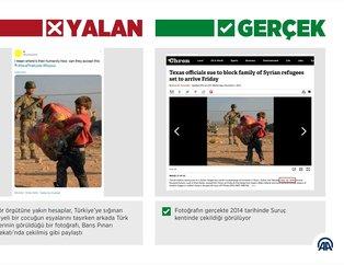 Barış Pınarı Harekatı'ndan rahatsız olan terör sevicileri kara propagandaya devam ediyor!