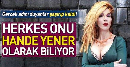 Hande Yener'in gerçek ismini duyanlar şaşırıp kalıyor! İşte Hande Yener ve diğer ünlülerin gerçek isimleri