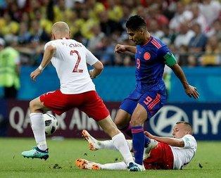 Dünya Kupası H Grubunda Kolombiya Polonyayı 3-0 mağlup etti