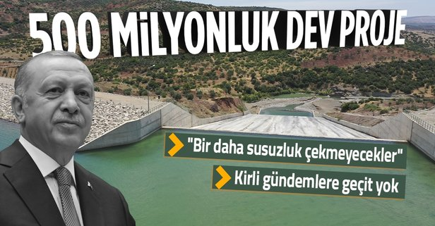Yukarı Afrin Barajı açıldı