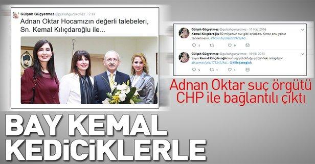 Adnan Oktar örgütü CHP ile bağlantılı çıktı
