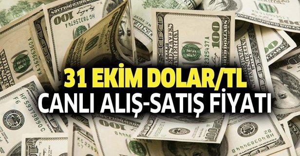 Dolar Tl Kuru Son Dakika 31 Ekim Euro Ve Dolar Ne Kadar