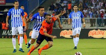 Erzurumspor - Başakşehir maç sonucu: 0-1