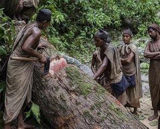 Çiğ et yiyip kan içiyorlar! Dünyanın en ilkel kabilesini görenler inanamıyor