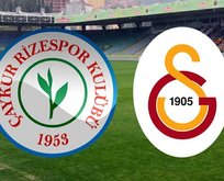 Rizespor - Galatasaray maçı saat kaçta?