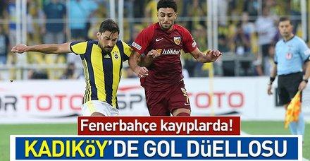 Fenerbahçe kayıplarda! ( MS: F.Bahçe 2-3 Kayserispor)