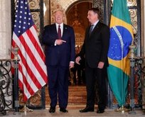 Trump ve Bolsonaro'dan 'koronavirüs' görüşmesi