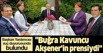 İYİ Parti eski Başkan Yardımcısı Adem Taşkayasuç duyurusunda bulundu:Buğra Kavuncu Meral Akşener'in prensiydi