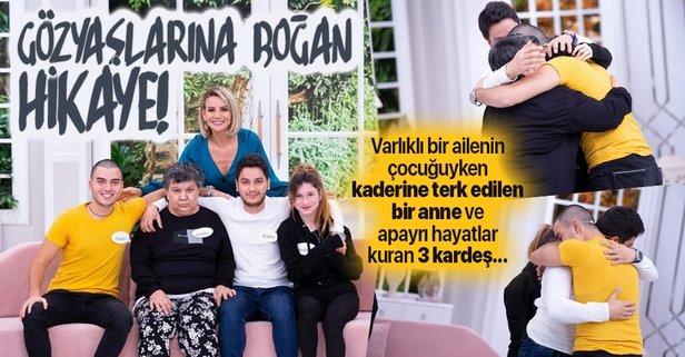Esra Erol, Ayşenur'un biyolojik ailesini dakikalar içinde buldu