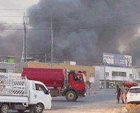 Kuzey Irak'ta cephanelikte patlama!