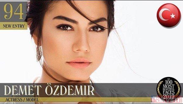 Dünyanın en güzel kadınları belli oldu...Listede 3 de Türk isim var... İşte o isimler
