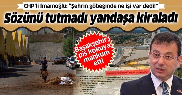 CHP'li İmamoğlu sözünü tutmadı