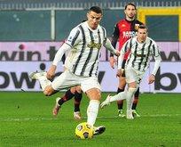 Ronaldo attı, Juventus deplasmanda kazandı!