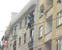 İstanbul Bağcılar'da intihar girişimi!