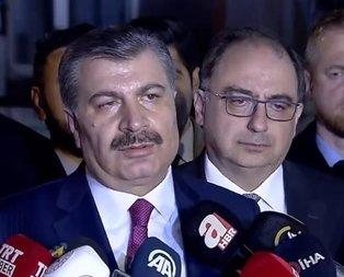 Son dakika: Sağlık Bakanı Koca'dan flaş açıklama: Koronavirüs olan hastamız yok