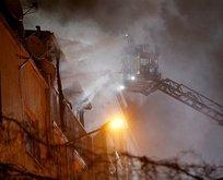 Bayrampaşa'da yangın!