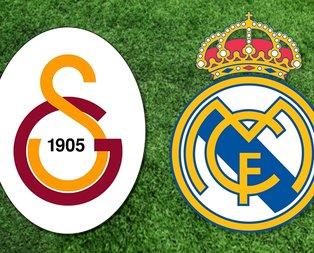 Galatasaray Real Madrid maçı ne zaman, saat kaçta?