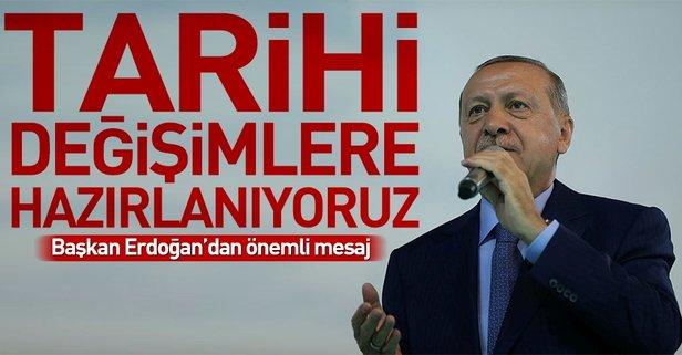 Başkan Erdoğandan yeni eğitim-öğretim yılı mesajı
