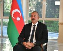 Aliyev gözyaşlarına hakim olamadı