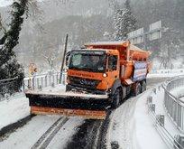 Meteoroloji uyardı! Ve İstanbulda beklenen kar yağışı başladı...