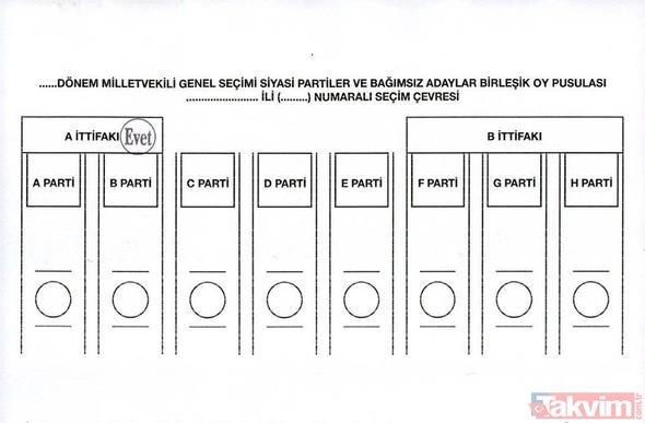 Oylar hangi durumda geçerli, hangi durumda geçersiz sayılır? Nasıl oy kullanılır?