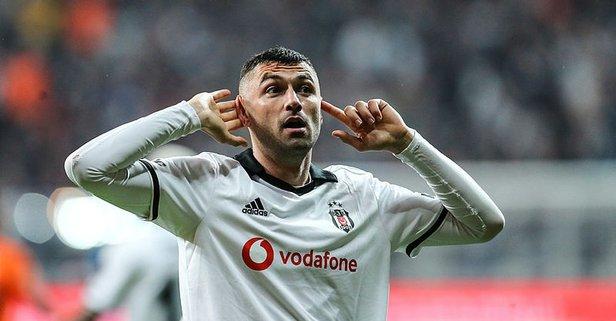Beşiktaş'ta Burak Yılmaz sürprizi