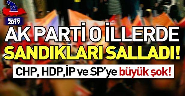 İşte AK Parti'nin en yüksek oy aldığı iller