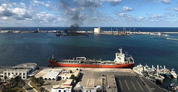 Hafter'den Trablus Limanı'na ikinci saldırı