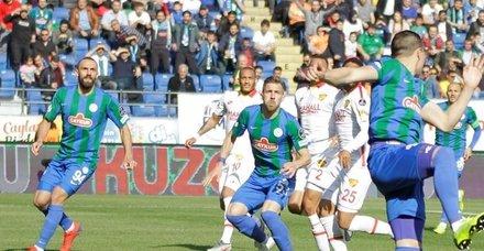 Maç sonucu: Çaykur Rizespor 1-0 Göztepe