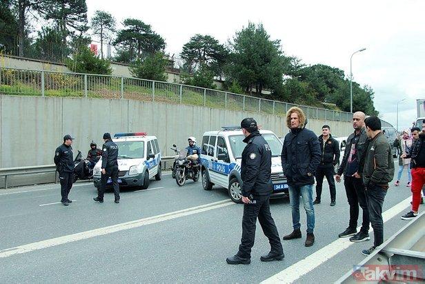 Polis alarma geçti! TEM'de hareketli dakikalar