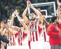 Son şampiyon CSKA'ya Olympiakos şoku