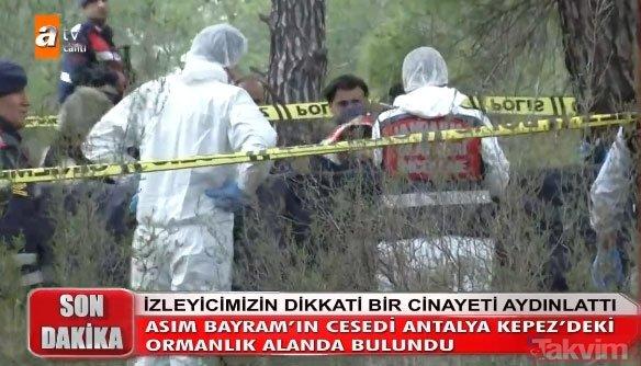 Müge Anlı'da son dakika gelişmesi kan dondurdu! Asım Bayram'ın cesedi 8 parça şeklinde bulundu!