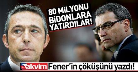 Fenerbahçe transferde 80 milyonu bidonlara yatırdı