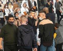 İstanbullu koronavirüs kurallarına uymadı