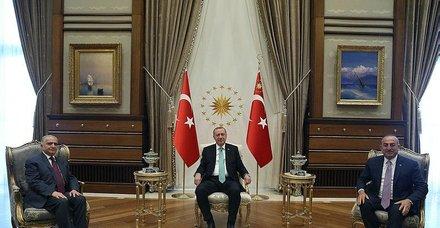 Başkan Erdoğan, Irak Dışişleri Bakanı Muhammed Ali el-Hekim ile görüştü